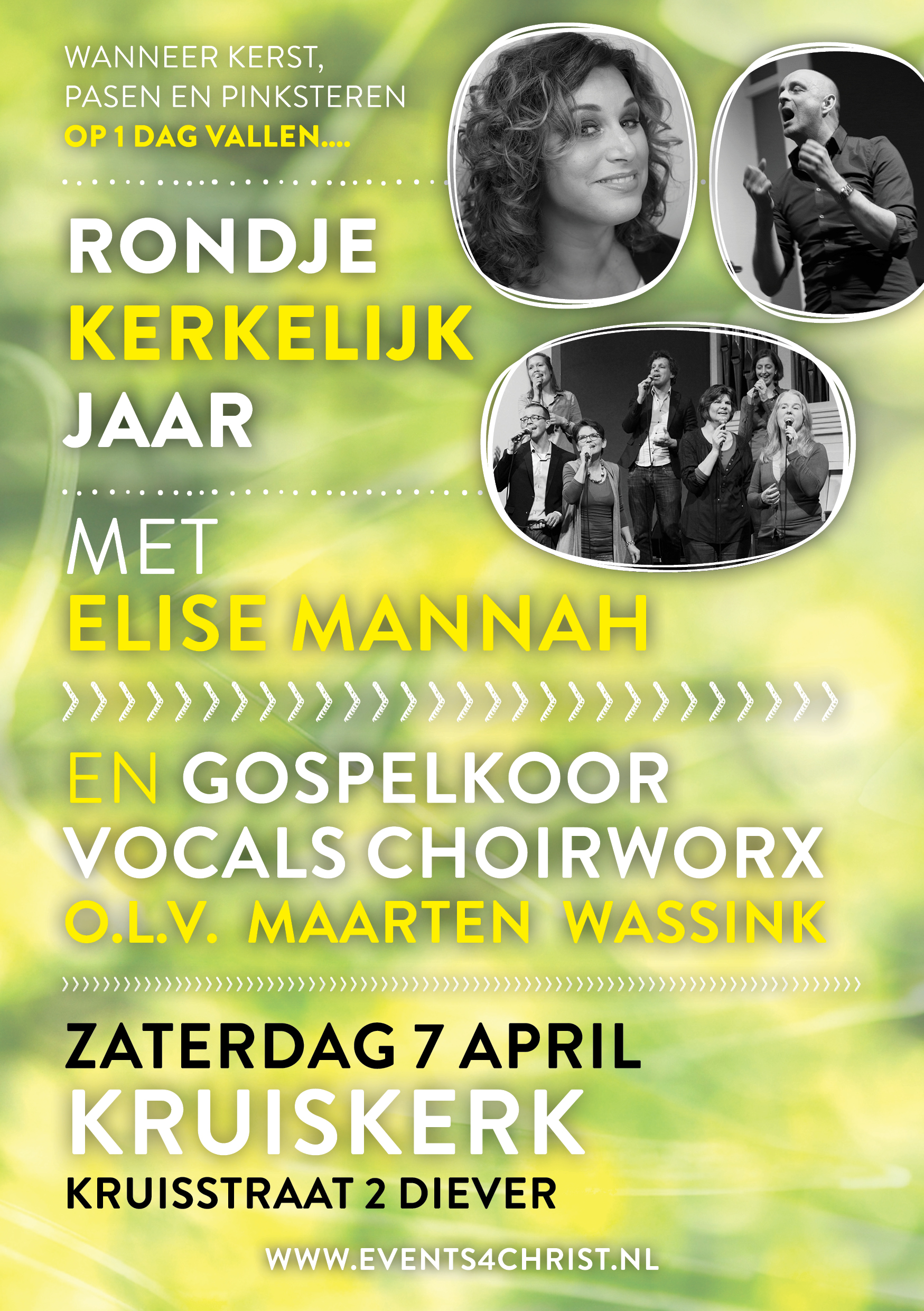 7 april Elise Mannah en Vocals Choir Worx